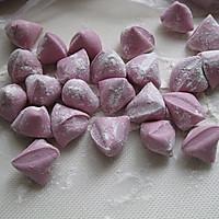紫薯玫瑰花的做法图解7