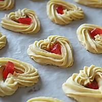 自制情人节礼物:爱心曲奇饼干的做法图解13