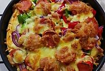 烤披萨的做法