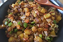 洋葱炒土豆牛肉丁的做法