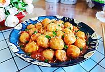 #百变鲜锋料理#茄汁虎皮鹌鹑蛋的做法