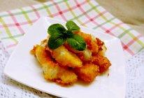 超简单又好吃的酥炸鱼柳~快手小零食的做法