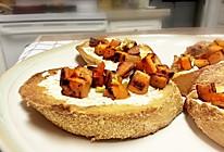 秋季Ins风餐包:甜薯长棍面包的做法