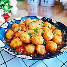 #百变鲜锋料理#茄汁虎皮鹌鹑蛋