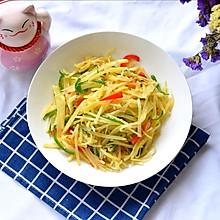 #520,美食撩动TA的心!#双椒土豆丝