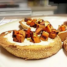 秋季Ins风餐包:甜薯长棍面包