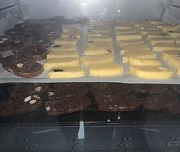 双味烤饼干的做法