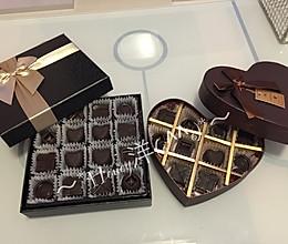 自制DIY夹心巧克力的做法