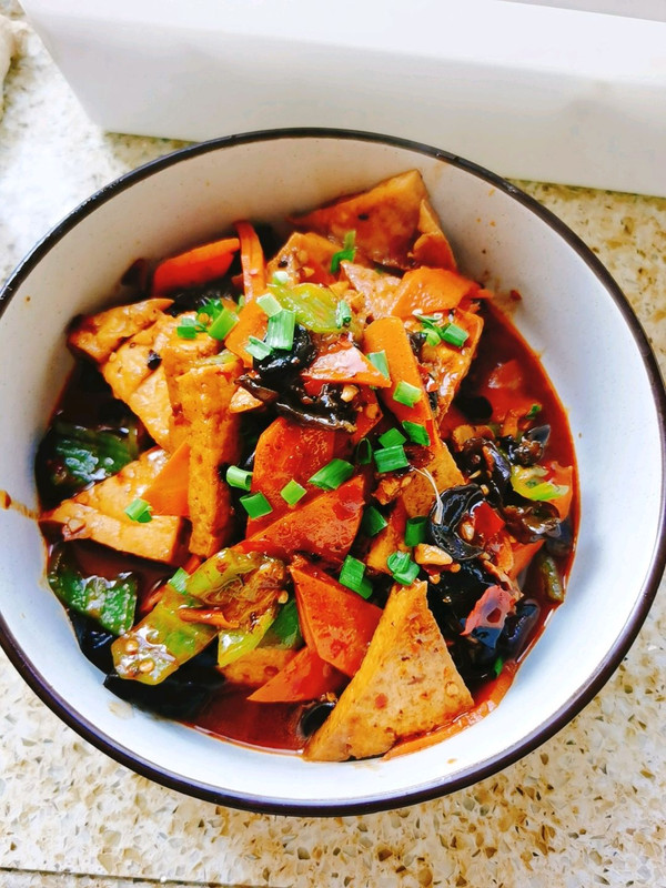 川味版家常豆腐,一定要入味儿的做法