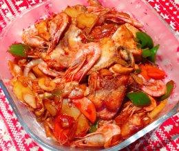 干锅海鲜的做法