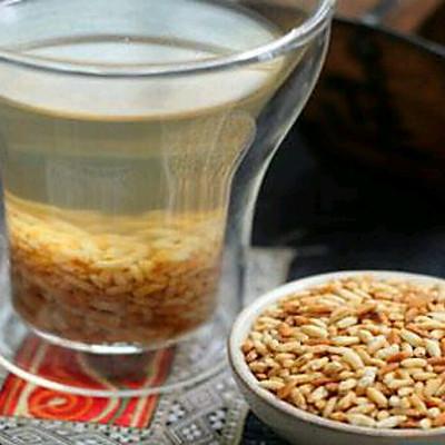护胃刮油~炒米(炒米茶,炒米粥)