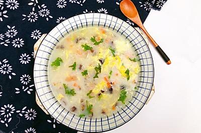 #硬核菜谱制作人#海鲜疙瘩汤