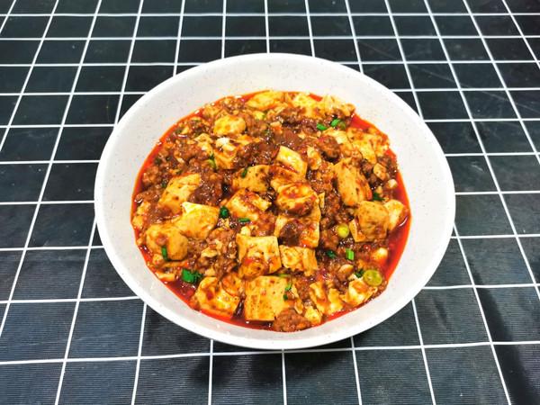 在家也能吃到滑嫩入口的【麻婆豆腐】