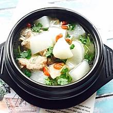 #肉食者联盟#白萝卜筒骨汤