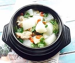 #肉食者联盟#白萝卜筒骨汤的做法