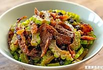 豆豉鲮鱼炒苦瓜|酥香回甘的做法