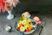 五彩缤纷鸡蛋果蔬沙拉的做法