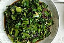 豆豉豆豉鲮鱼油麦菜的做法
