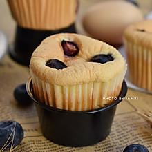 #快手又营养,我家的冬日必备菜品# 蓝莓小蛋糕