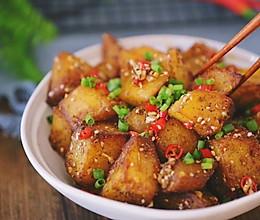 【锅巴土豆】逛夜市必点的人气小吃!的做法