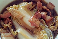 懒人猪肉炖白菜的做法