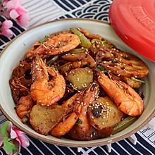 好吃的干锅香辣虾