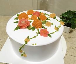 豆沙裱花的做法