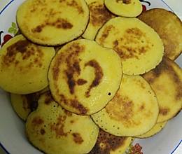松软玉米小饼(糖尿病人可放心食用)的做法