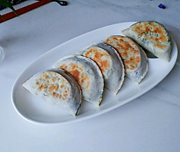 葱蛋油虾苋菜饼的做法