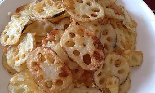 炸藕片(比薯片还好吃)的做法