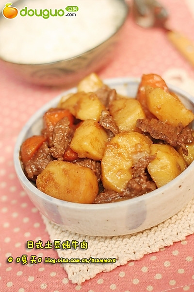 日式土豆炖牛肉的做法