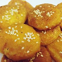芝麻香南瓜饼