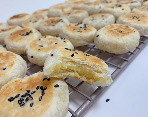 潮汕绿豆饼,不用烤箱就可以做出的美味