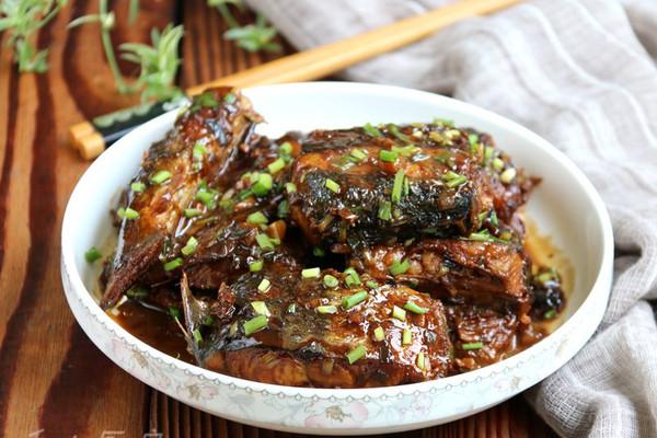 红烧马鲛鱼#金龙鱼外婆乡小榨菜籽油最强家乡菜#的做法