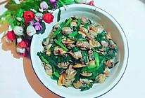 韭菜炒蛤肉#德国MIJI爱心菜#的做法