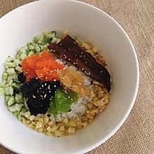 鱼籽丼(鱼籽拌饭)