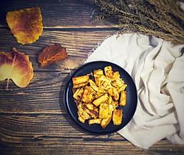 秋之味 金黄豆腐的做法