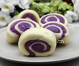 紫薯馒头的做法