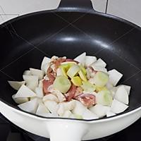 鸭脯肉萝卜汤的做法图解3