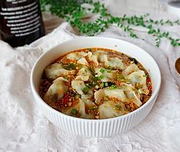 超级开胃的酸汤水饺的做法