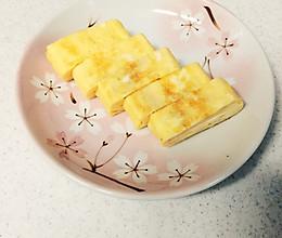 """日本料理""""厚蛋烧""""(厚焼き玉子)的做法"""