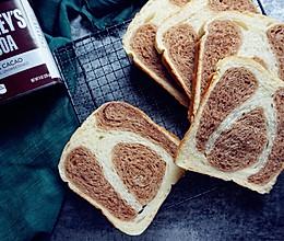 面包机版双味吐司的做法