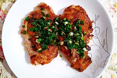 香煎鸡腿(非油炸)