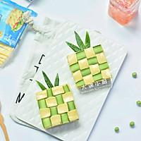 菠菜豌豆绿菠萝#百福吉食尚达人#的做法图解11