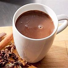 可可粉热巧克力牛奶