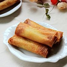 大白菜肉丝春卷