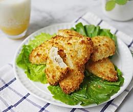 少油健康空气炸鳕鱼排#快手又营养,我家的冬日必备菜品#的做法