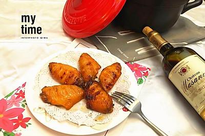 砂锅烤鸡翅