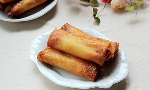 大白菜肉丝春卷的做法