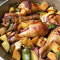 烤箱菜之甜辣鸡腿的做法图解5